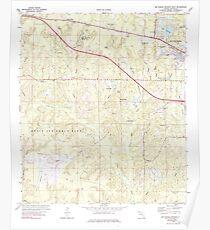 USGS TOPO Map Florida FL De Funiak Springs West 345779 1973 24000 Poster