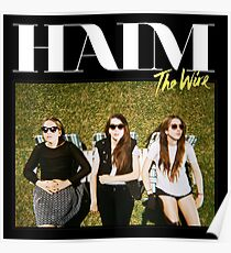 Haim The Wire Poster