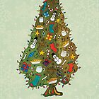Vintage Weihnachtsbaum von Caites