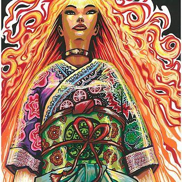 Japanese Phoenix by JosieBaldwin