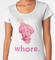 Whore. Women's Premium T-Shirt