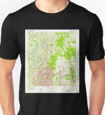 USGS TOPO Map Florida FL Sulphur Springs 348727 1956 24000 T-Shirt
