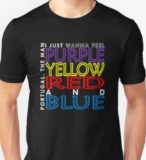 Purple Yellow Red and Blue (Portugal. The Man) Unisex T-Shirt