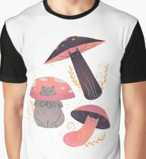 Meowshrooms Graphic T-Shirt