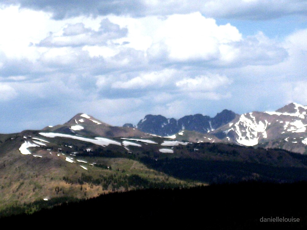 Shadows Over the Mountains by daniellelouise