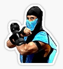 Mortal Kombat Sticker Series - Sub-Zero MK2 Sticker