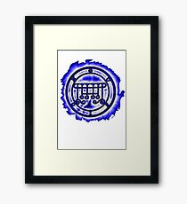 SEAL OF GUSION  Framed Print