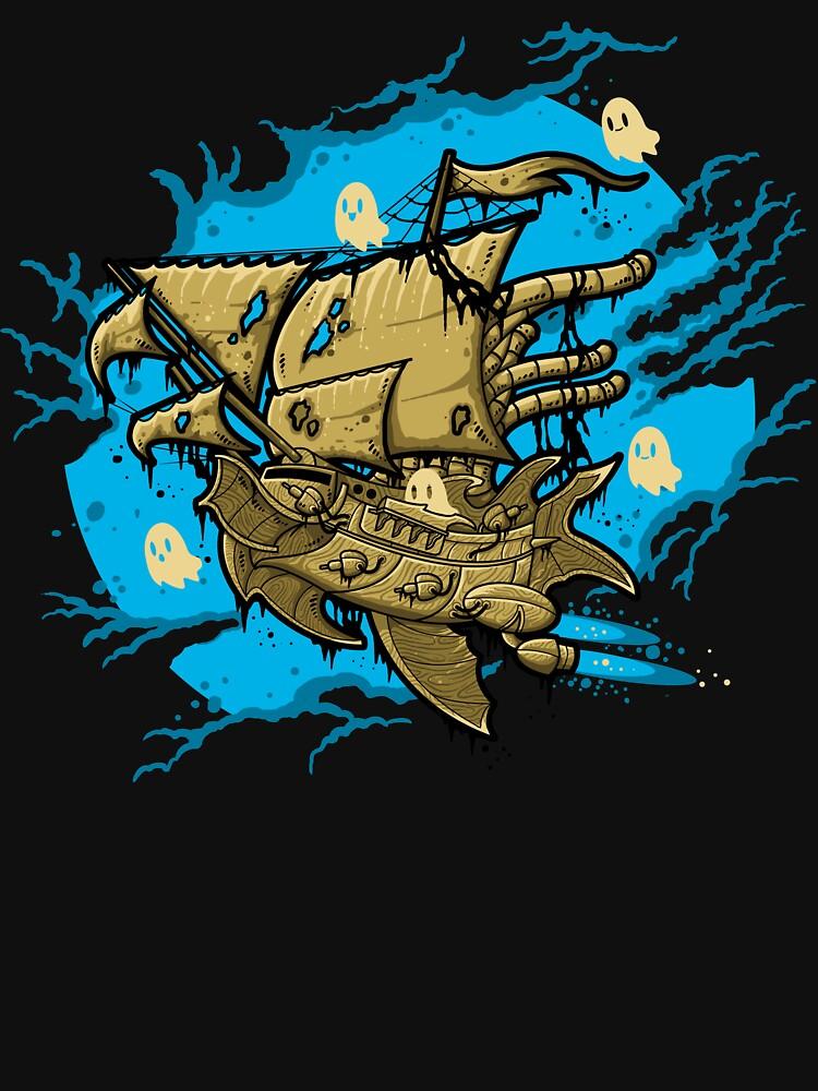 Nave espacial fantasma de Letter-Q