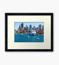 Sydney Quay Framed Print