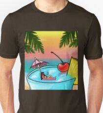 blue hawaii Unisex T-Shirt
