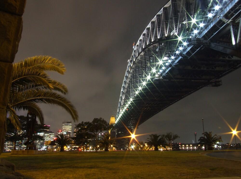 Harbour Bridge by Night by DarkSkies