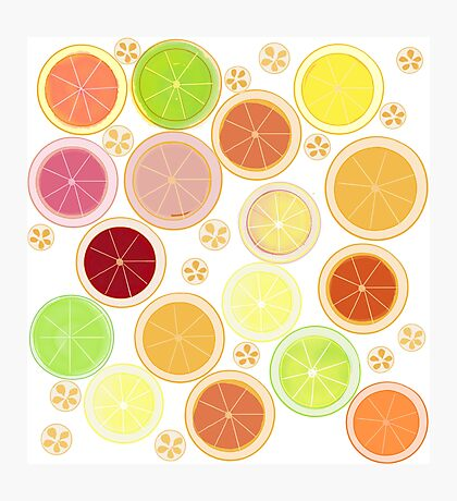 Summer Citrus Photographic Print