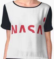 NASA New Logo 2016 (red) Women's Chiffon Top