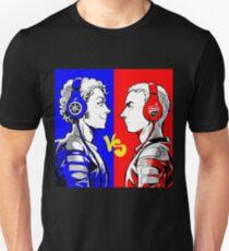 rossi vs lorenzo Unisex T-Shirt