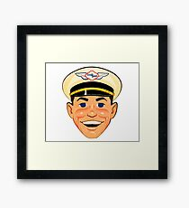 The Good Humor Man retro classic Framed Print