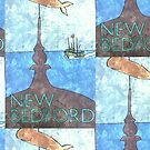 New Bedford Scene by CMEillustration