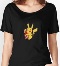 ketchup pika Women's Relaxed Fit T-Shirt