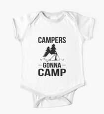 Campers Gonna Camp Kids Clothes