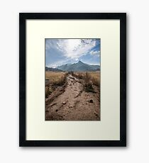 The Path to Greatness Framed Print