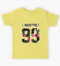 Ivan Martinez - Colorful Flowers Kids Tee