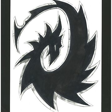Clandestien Dragon Shuriken by JosieBaldwin