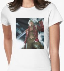 Devil My Cry Womens Fitted T-Shirt