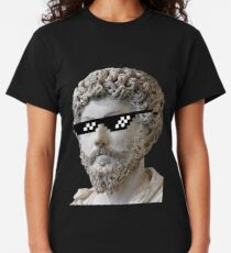 Marcus Aurelius - Deal with it Classic T-Shirt