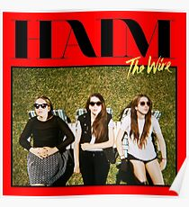 Haim The Band - The Wire Poster