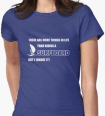 Windsurfen - Surfen - Wellenreiten - Wassersport Womens Fitted T-Shirt