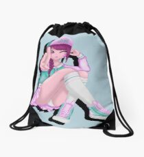 D.Va Cosplay Drawstring Bag