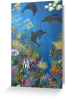 Aquatic 1 by Margo Humphries