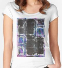 The Grid by Margo Humphries Women's Fitted Scoop T-Shirt