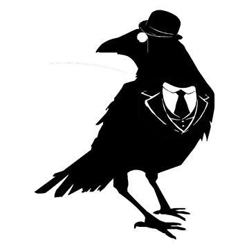 Classy Raven by DMLloyd