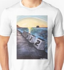 """Merewether Baths"" by Margo Humphries Unisex T-Shirt"