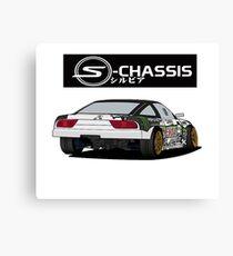 240sx track car Canvas Print