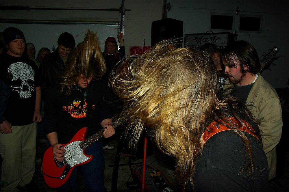 Rockin hair in action! by Michael Gatch
