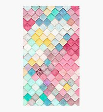 Scaled Pattern Photographic Print