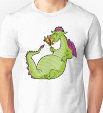 Elliot the Fire Breathing Dragon Slim Fit T-Shirt