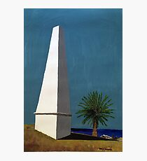 Newcastle Obelisk by Margo Humphries Photographic Print