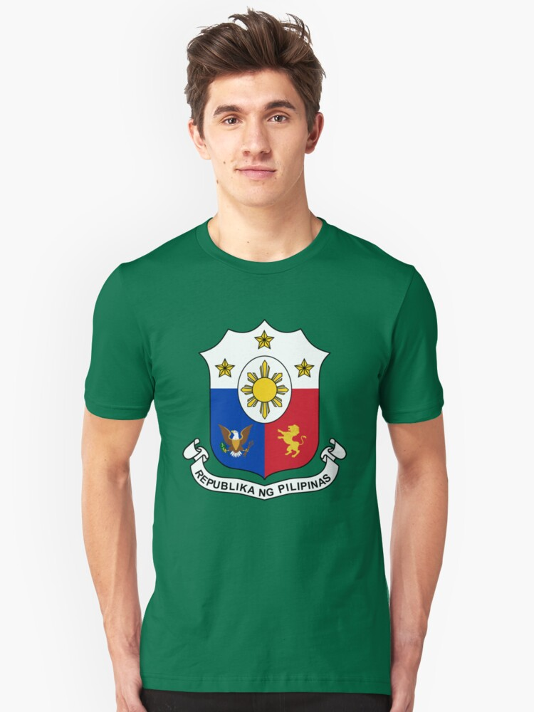 Philippines Shield Unisex T-Shirt Front