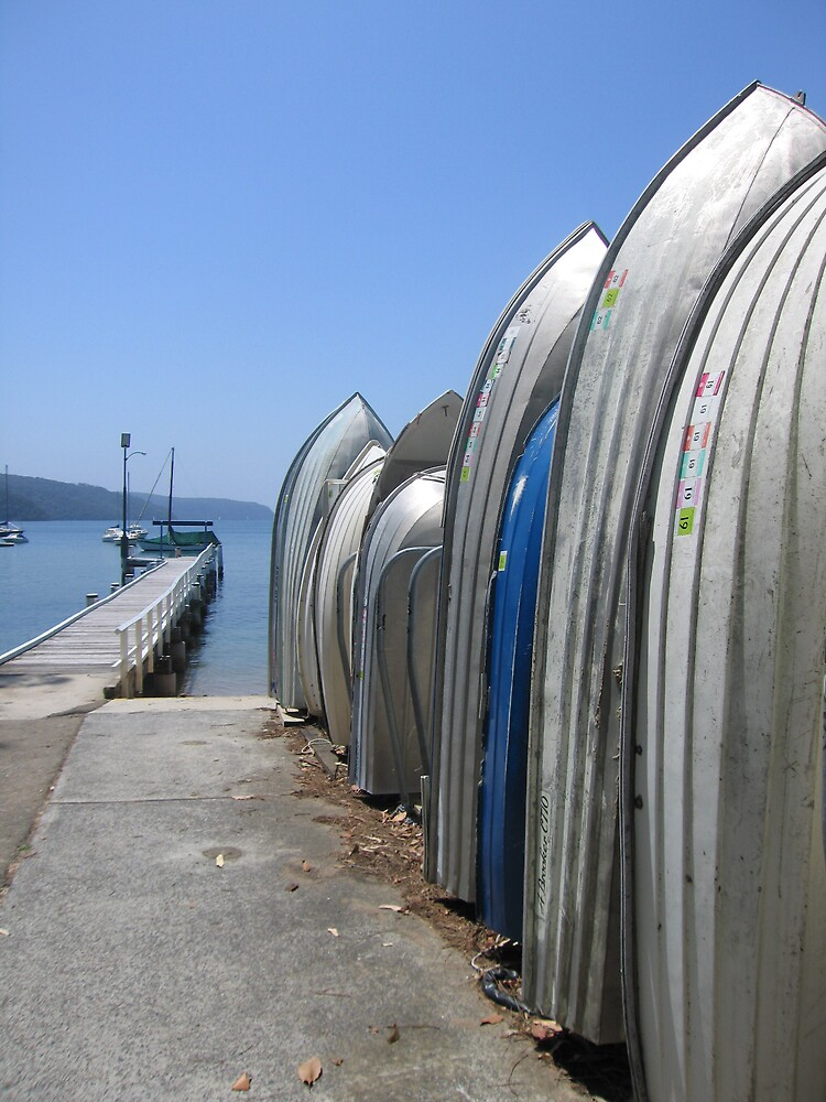 Pittwater boat rack by ailsamarshall