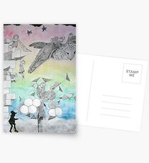 Night Stalkers at Dusk Postcards