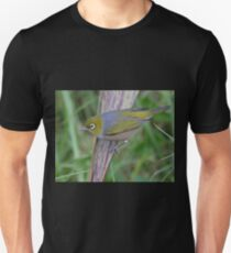Silver Eye on the Flax Unisex T-Shirt