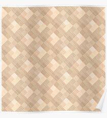 geometric pattern.Beige background. Poster
