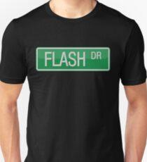 Flash Drive street sign Unisex T-Shirt