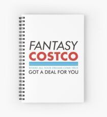 fantasy costco Spiral Notebook