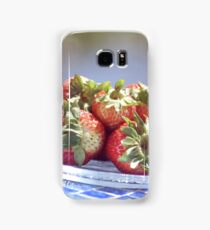 Succulent Strawberries Samsung Galaxy Case/Skin