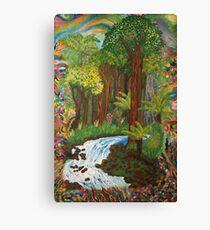 Rainforest - vivid Canvas Print
