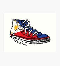 Pinoy Shoe Art Print
