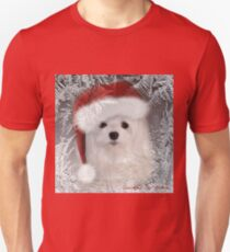 Snowdrop the Maltese - A Frosty Morning ! T-Shirt